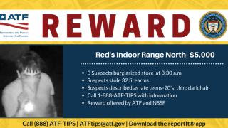ATF REWARD Red's Indoor Range