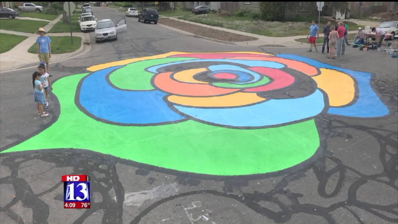 Art project aims to improve safety at intersection in Rose Park