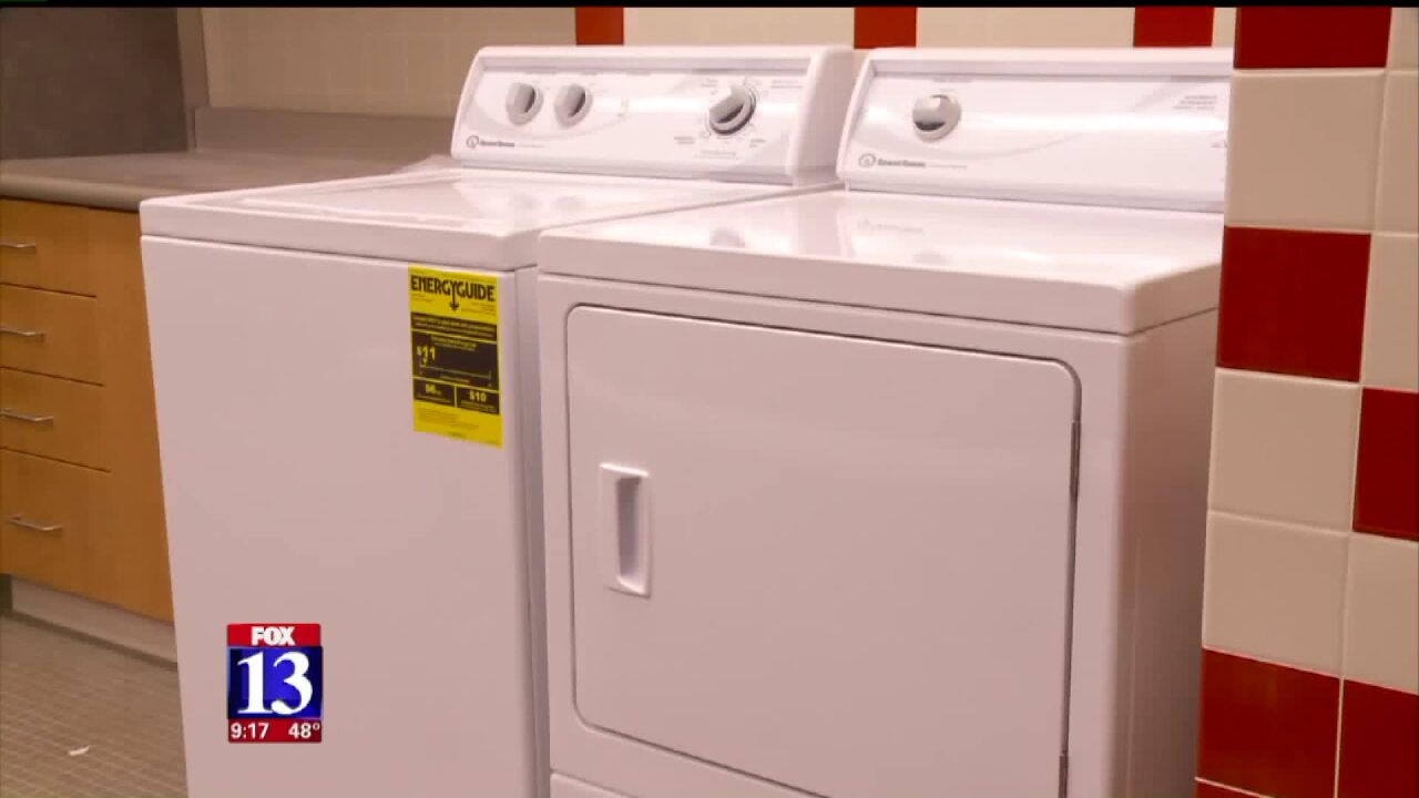 Utah high school installs showers, laundry facilities to help students who are homeless