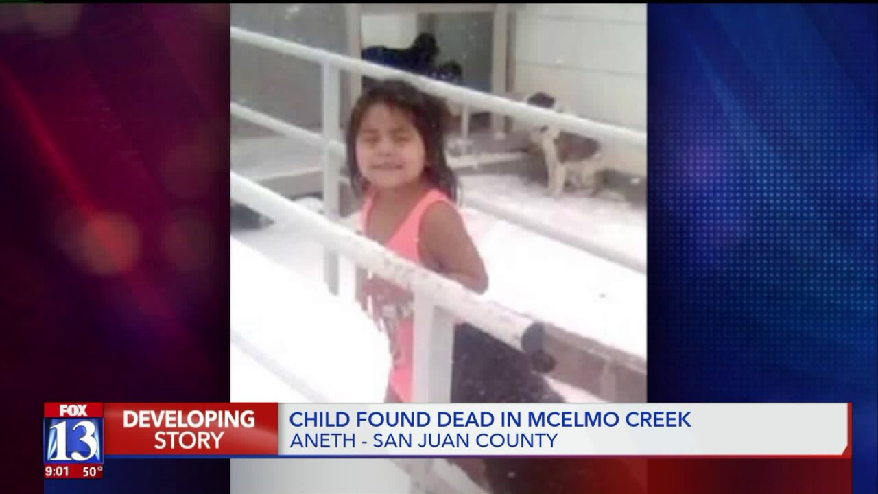 Body of missing girl Anndine Jones found in McElmo Creek, familysays