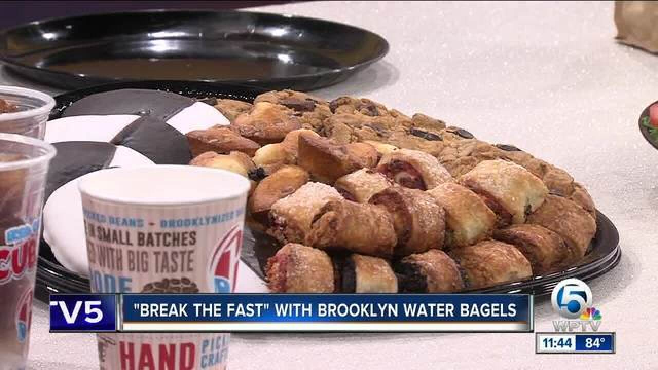 'Break The Fast' with Brooklyn Water Bagels
