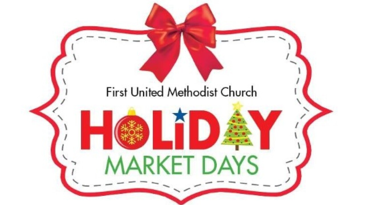 The First United Methodist Church Holiday Market Days