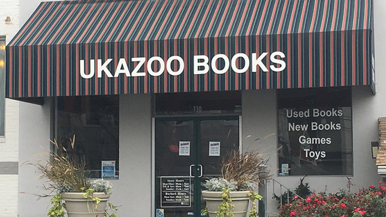 Ukazoo Books closing Towson store