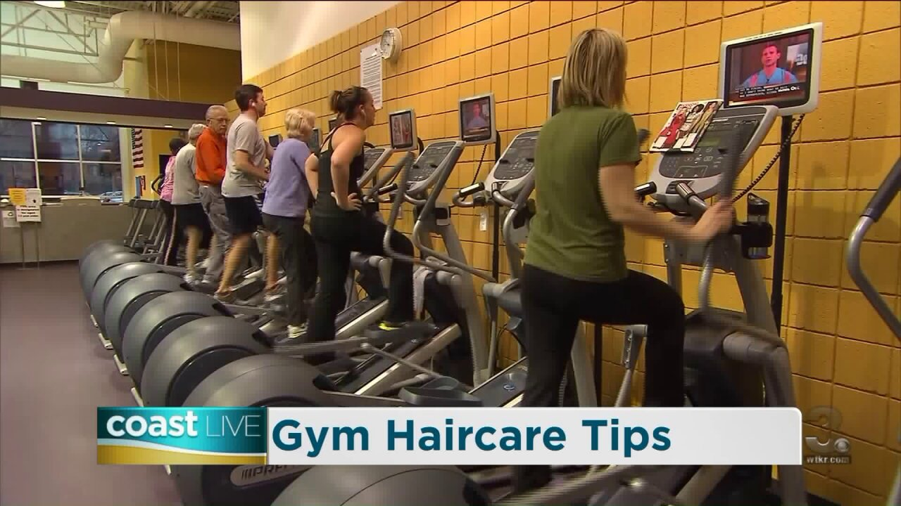 Advice for keeping your hair healthy after the gym on CoastLive