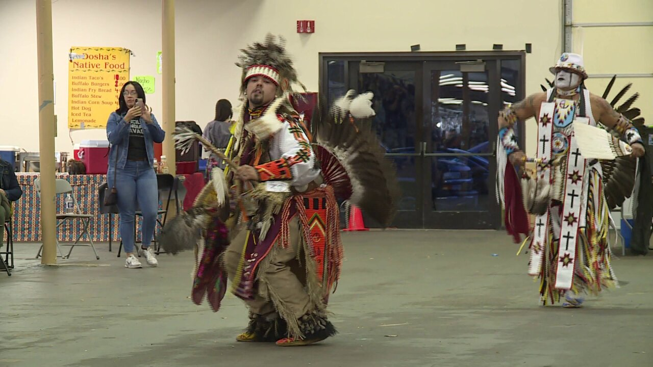 'Every dance has a meaning' at Great American Indian Expo andPow-Wow