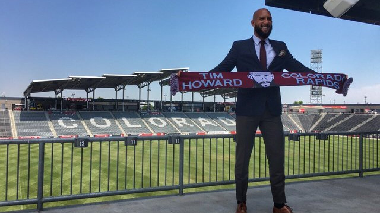 Rapids' goalkeeper Tim Howard buys London team with consortium