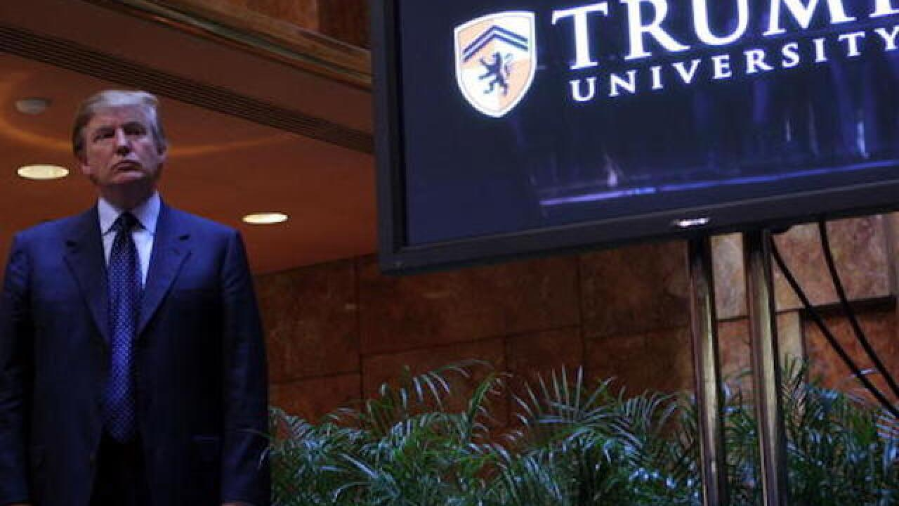 Defense open to settlement in Trump University lawsuit