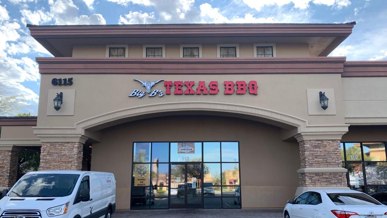 Big B's Texas BBQ still serving smoky southern flavor despite slow business