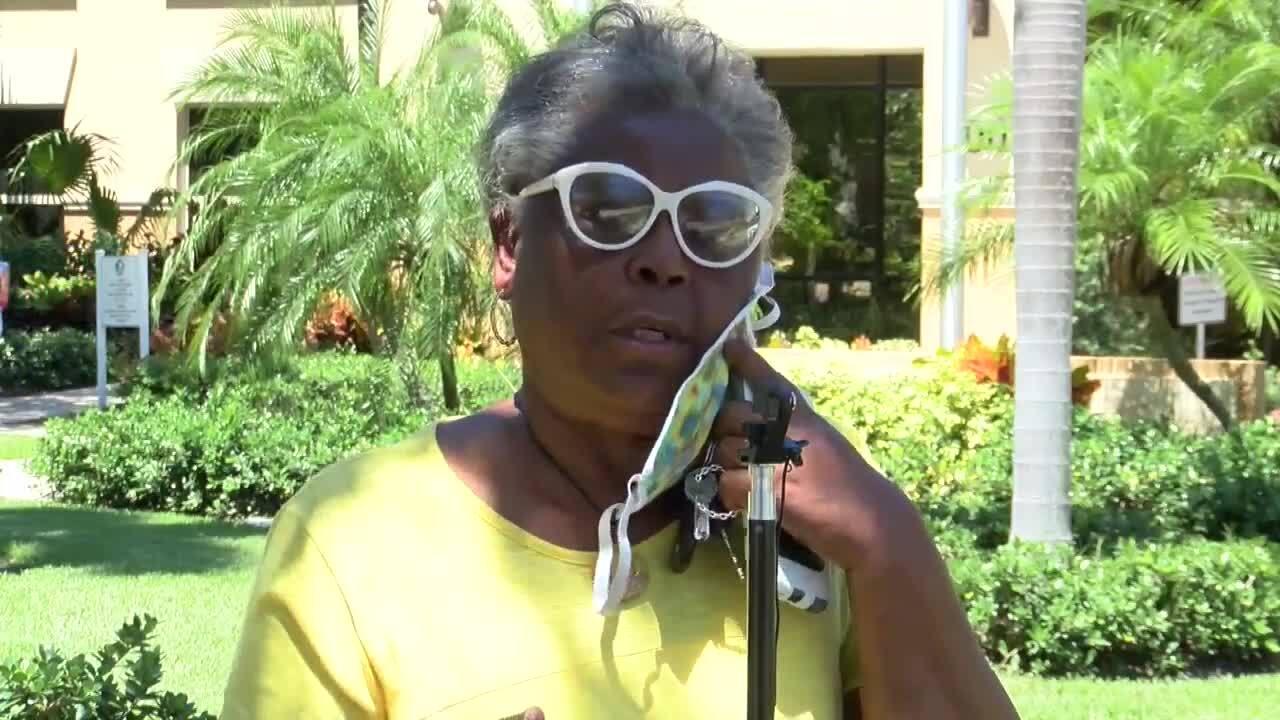 Yvonne Odom talks about West Atlantic Avenue redevelopment plan