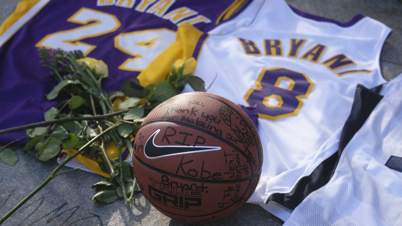 Lakers' next game postponed after Kobe Bryant's death