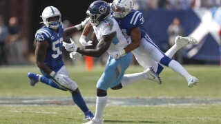 Colts Titans Football