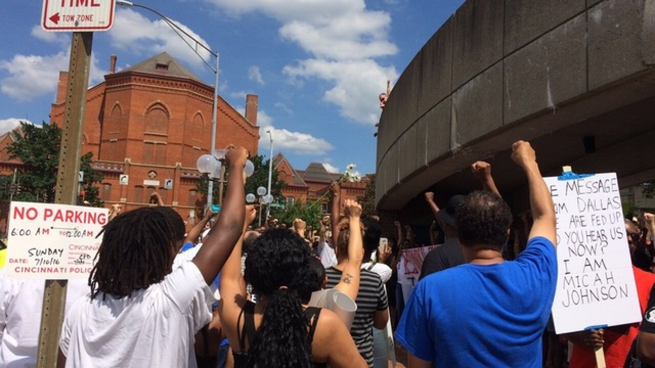 FOLLOW LIVE: Black Lives Matter march in Cincy