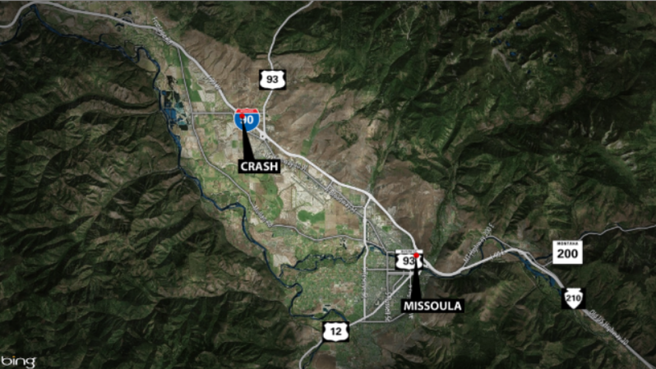 Fatal crash in Missoula County