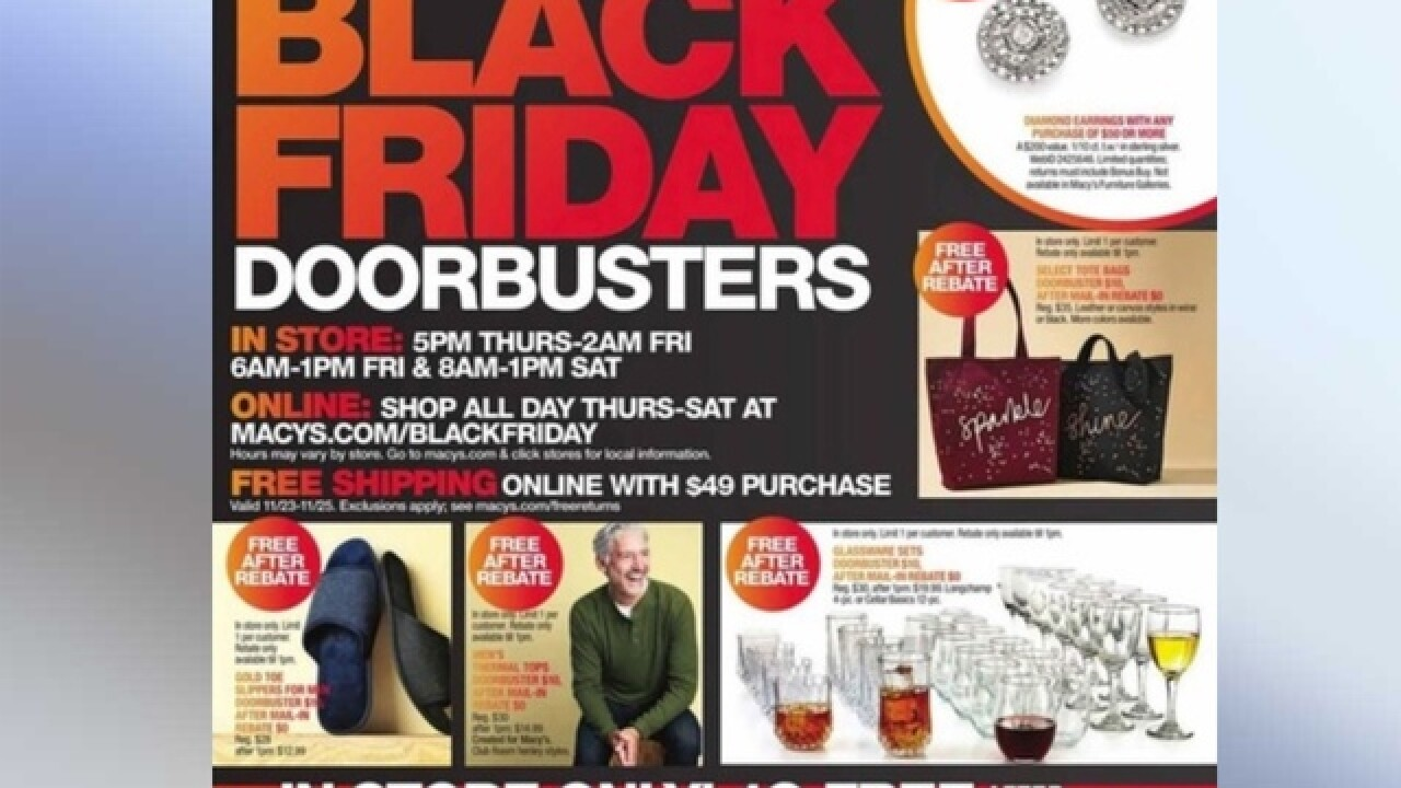 22b4e74e1a0 Macy s Black Friday 2018 ad is out