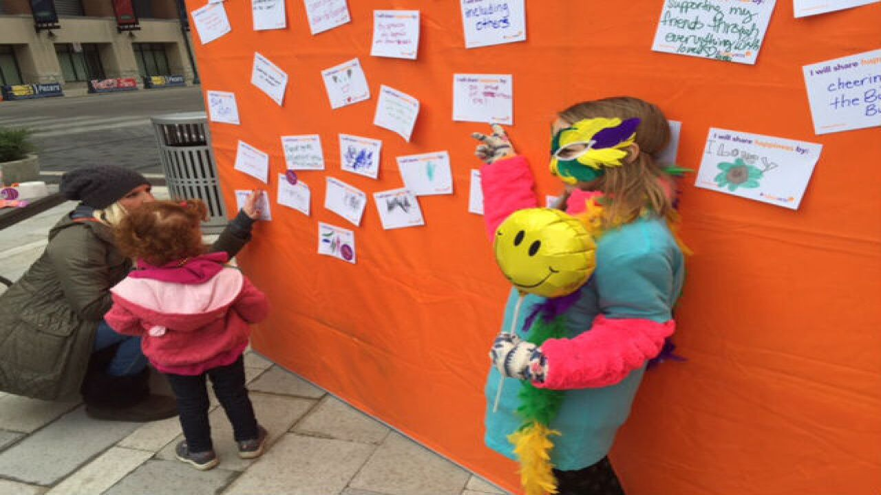 PHOTOS: Happiness Wall