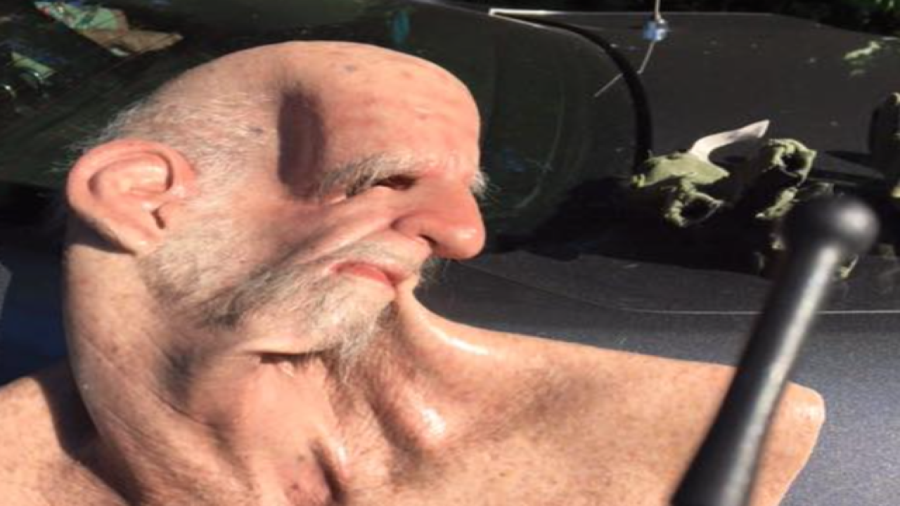 Police find 'elderly man' is young fugitive