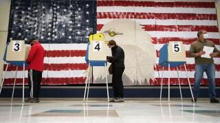 CORRECTION Election 2020 Virginia