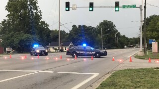24 Highway shut down in Independence after hit and run