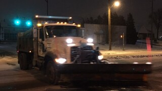 INDOT, DPW preparing for Saturday snow
