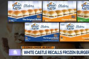 White Castle recalls frozen sliders