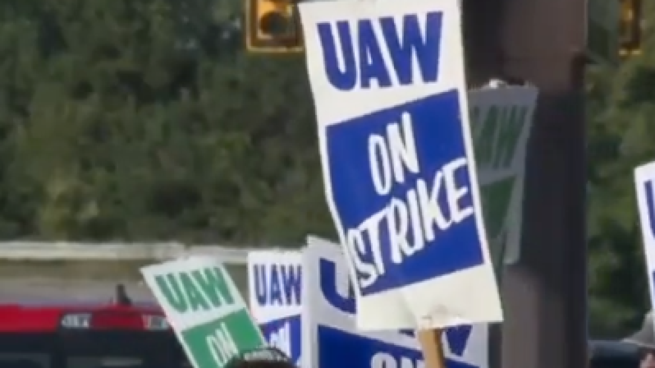 GM provides update on negotiations with UAW as auto workers' strike enters 26th day
