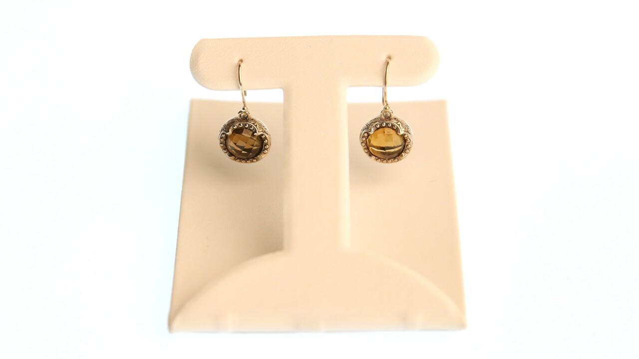 Round cognac drop earrings.jpg