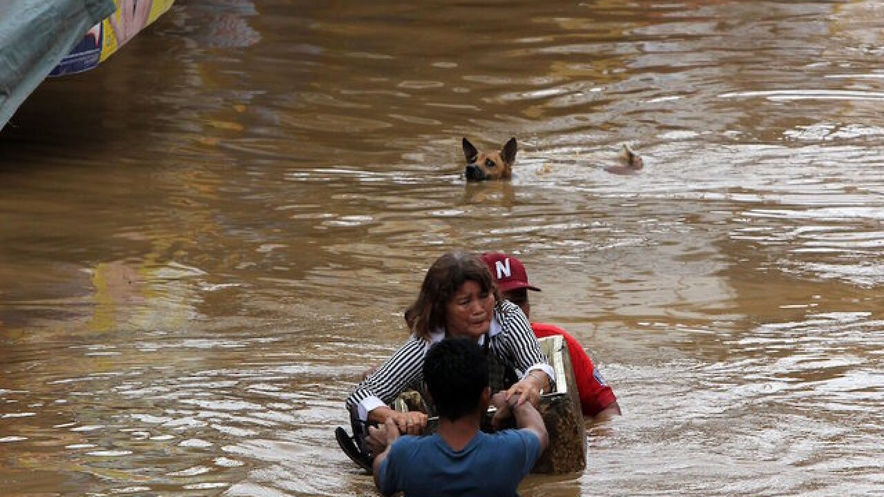More than 120 killed, 150 missing after tropical storm hits