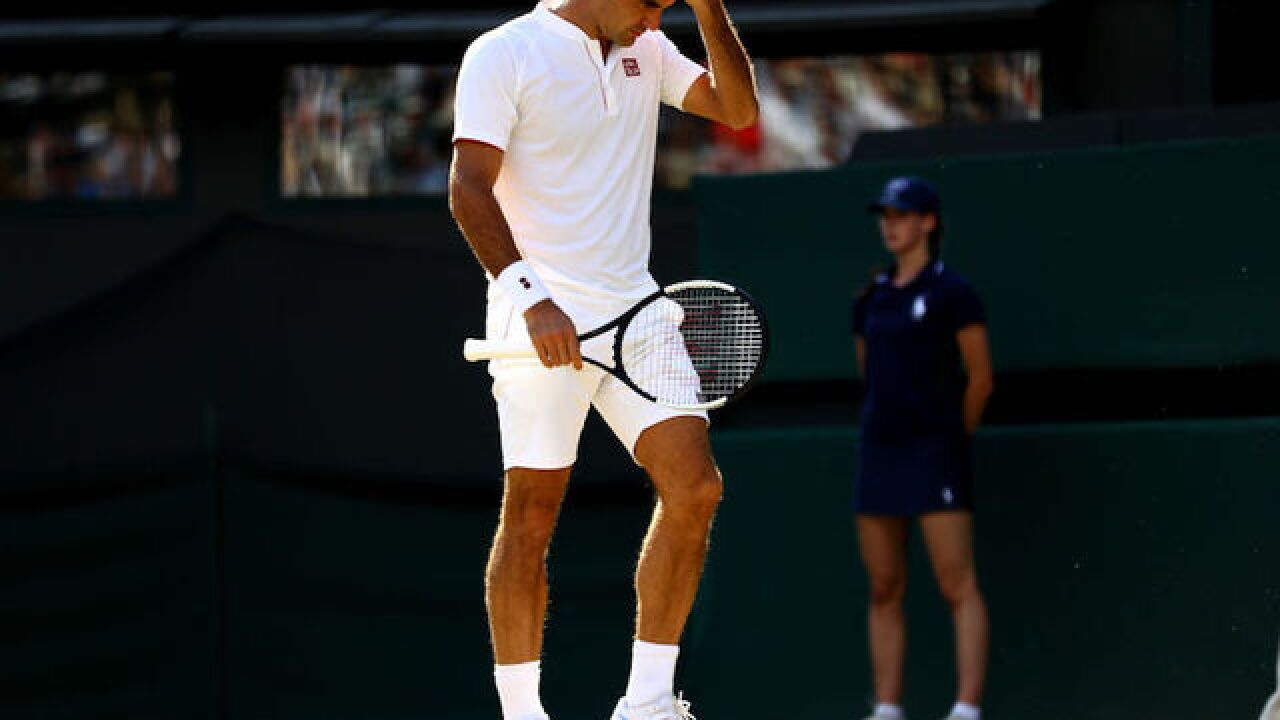 Roger Federer suffers shocking Wimbledon loss to Kevin Anderson