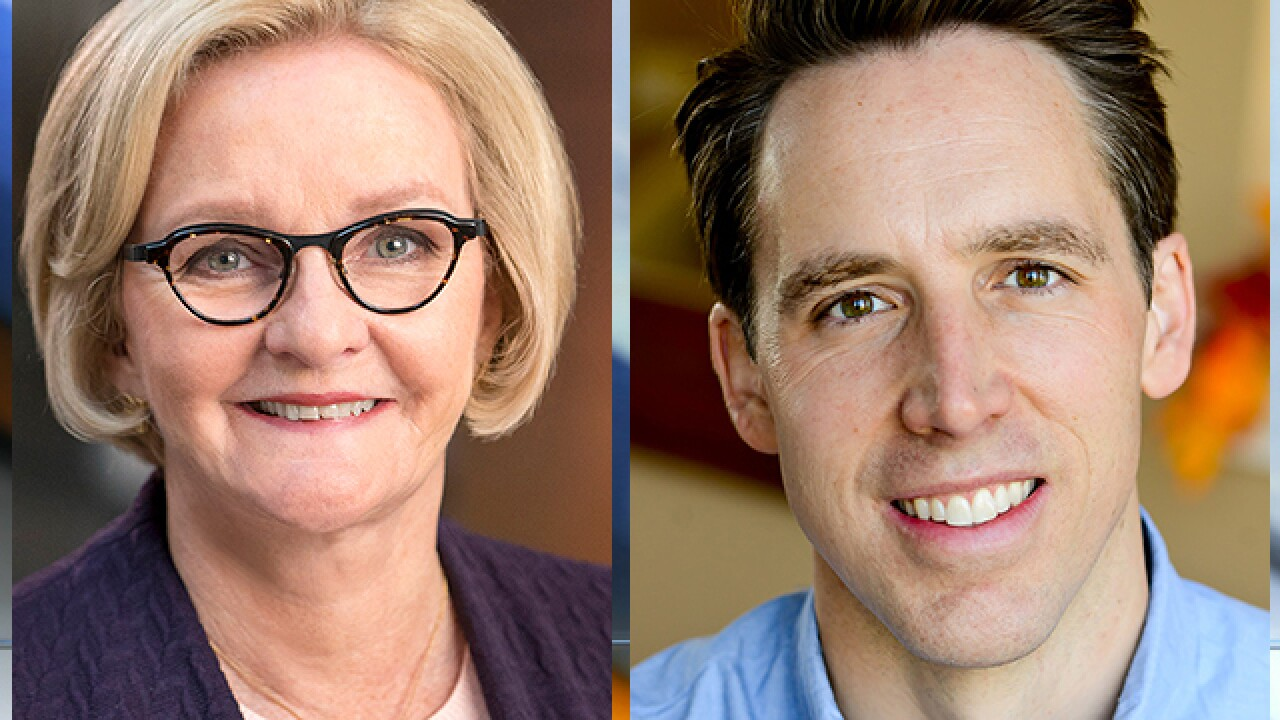 New poll shows McCaskill, Hawley tied in tight U.S. Senate Race in Missouri