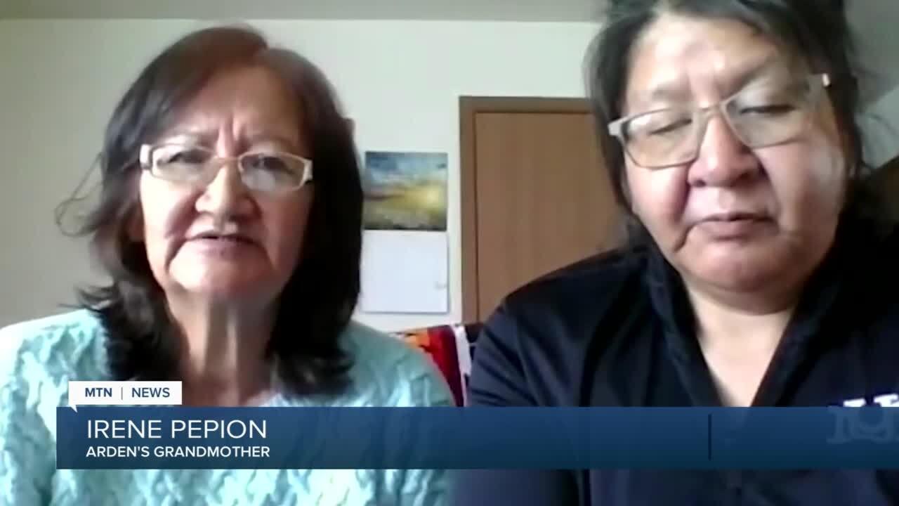 Irene Pepion and Tammy After Buffalo