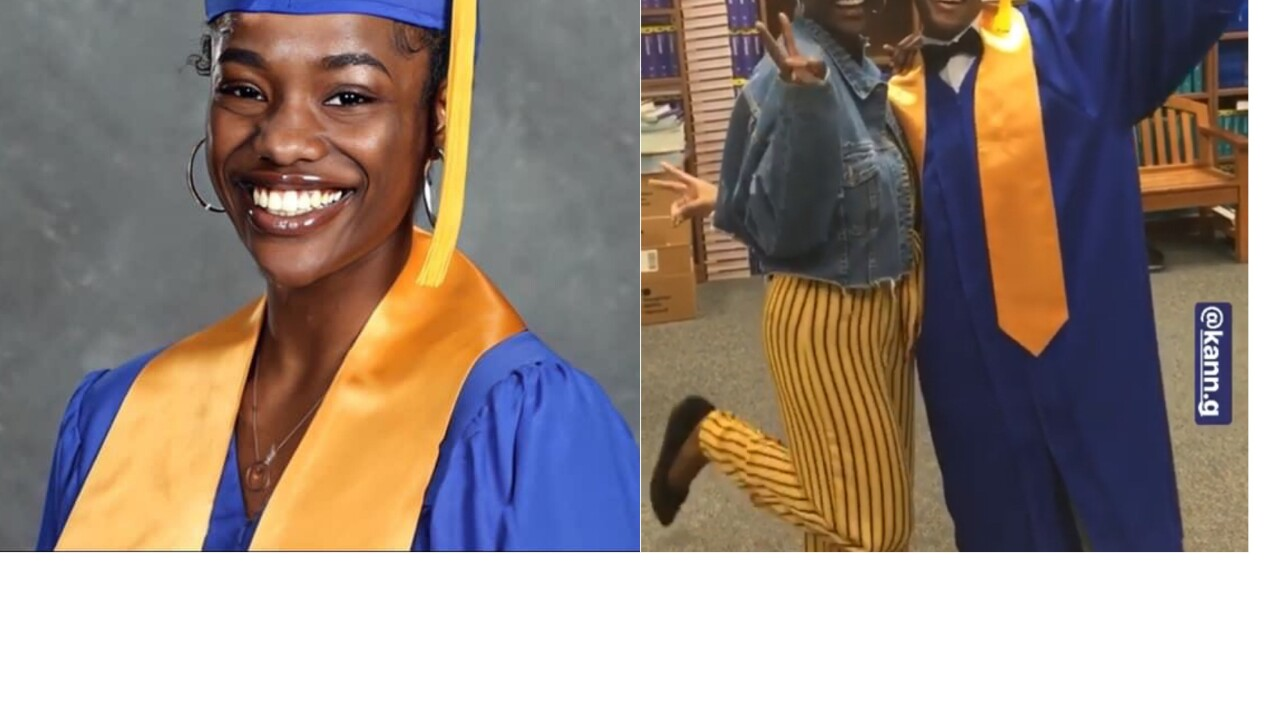 Alaysia and her best friend King Williams both have shared the same classes from PreK3 elementary now to Graduating High School..jpg