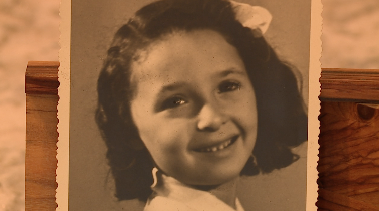 Judy Jacobs as a child