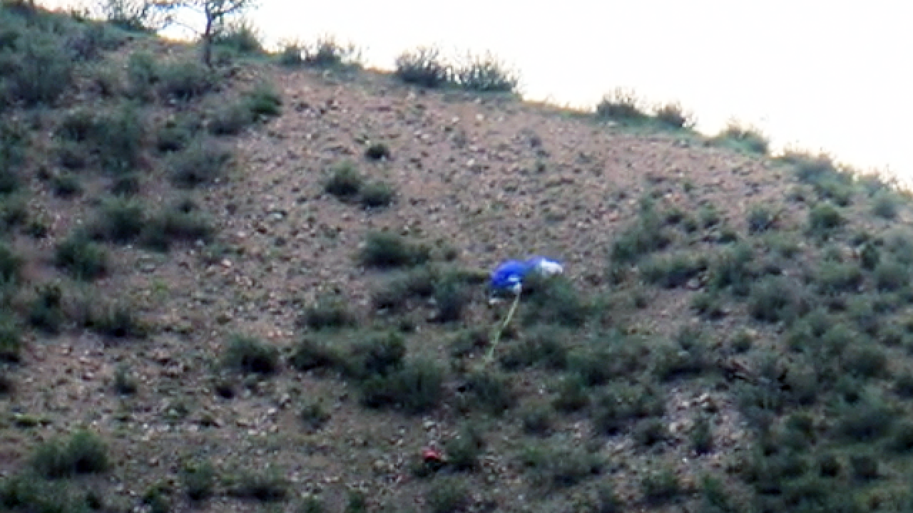 Paraglider makes desperate call for help in fatal crash on Green Mountain