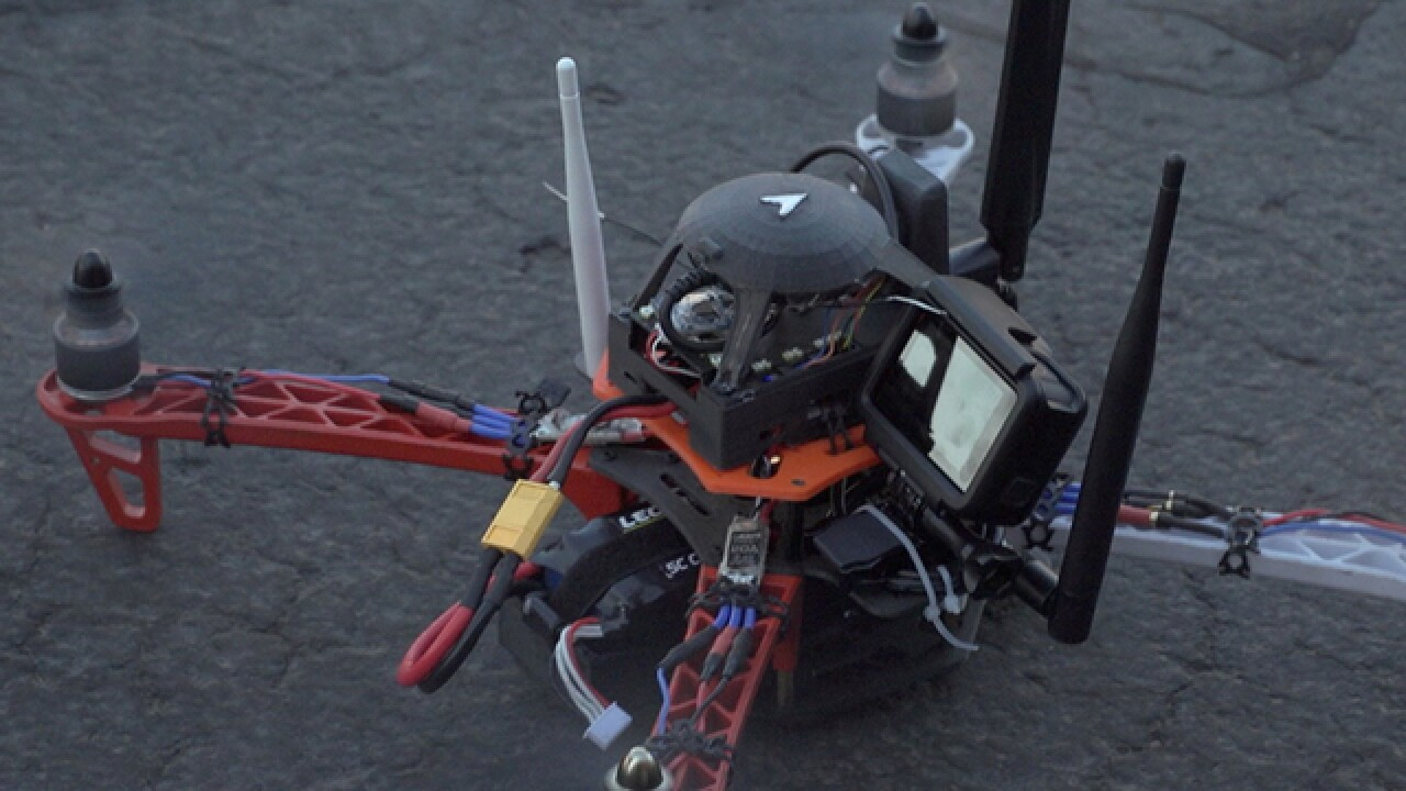 Hackers using drones to commit crimes