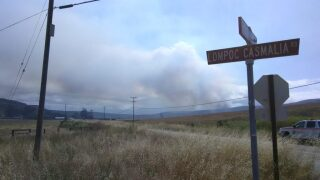 UPDATE: Fire at Vandenberg Air Force Base now 70% contained