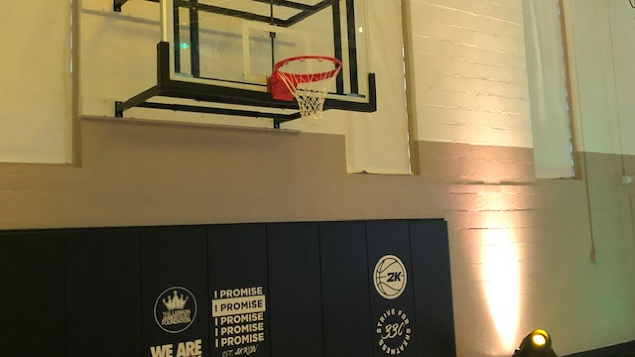 LeBron James Family Foundation renovates Akron gym