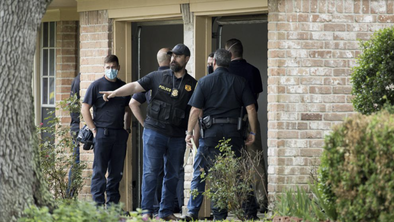 90 undocumented immigrants were found inside Texas home