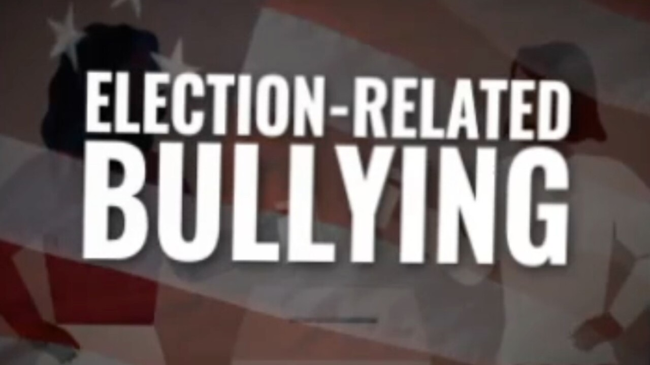 Cyberbullying related to election is growing problem among kids