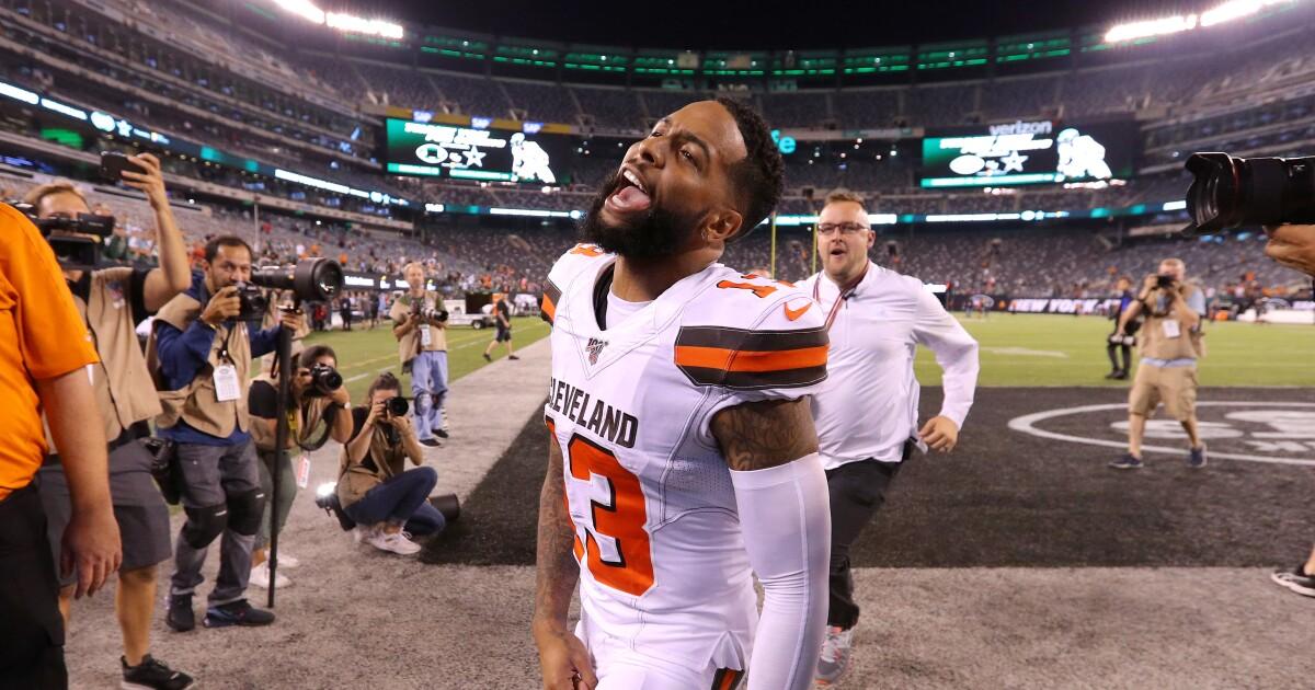 Watch: Cleveland Browns make parody of 'Friends'