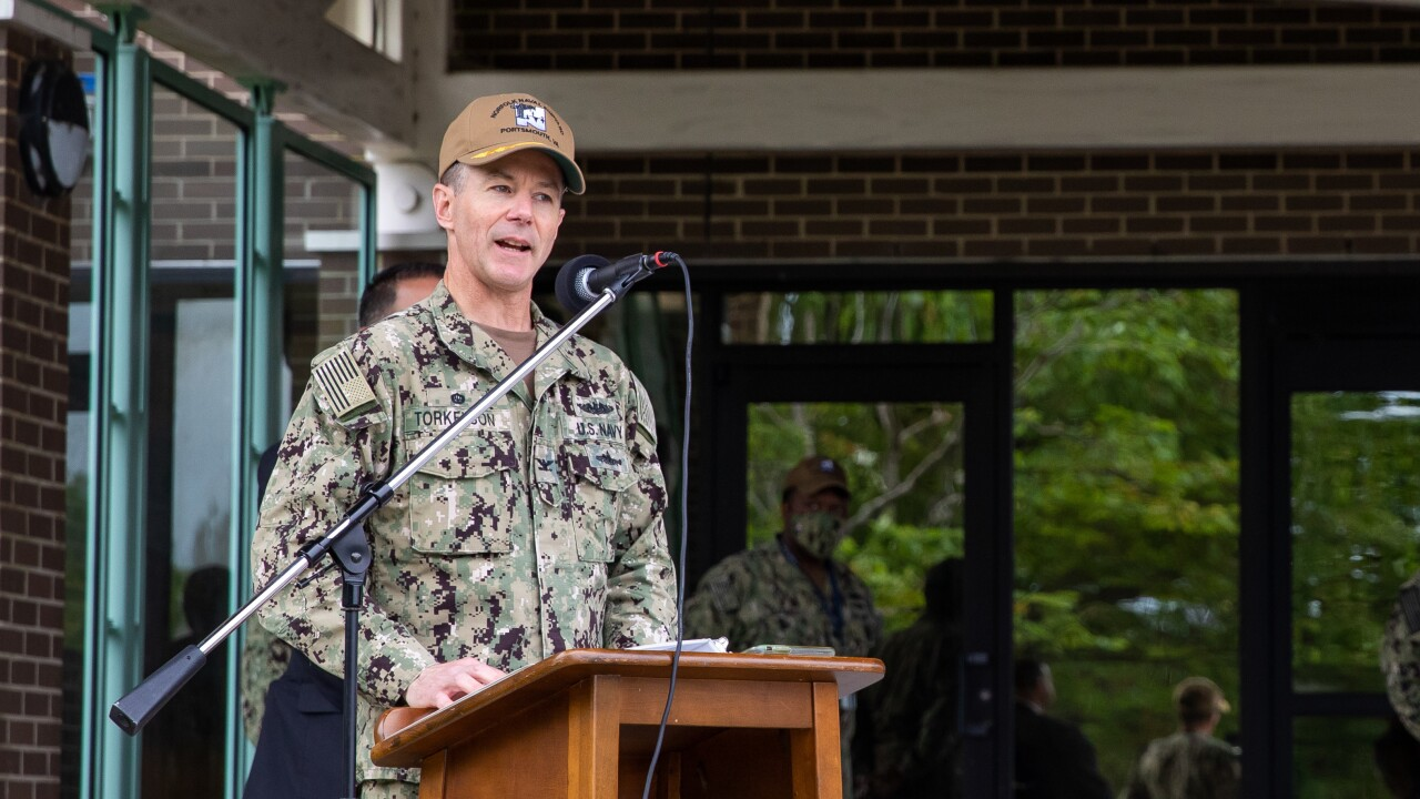 Norfolk Naval Shipyard Honors the Fallen with Memorial Day Ceremony