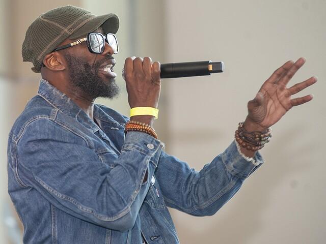 DJ Jazzy Jeff, MC Lyte perform at Cincinnati Music Festival 2018