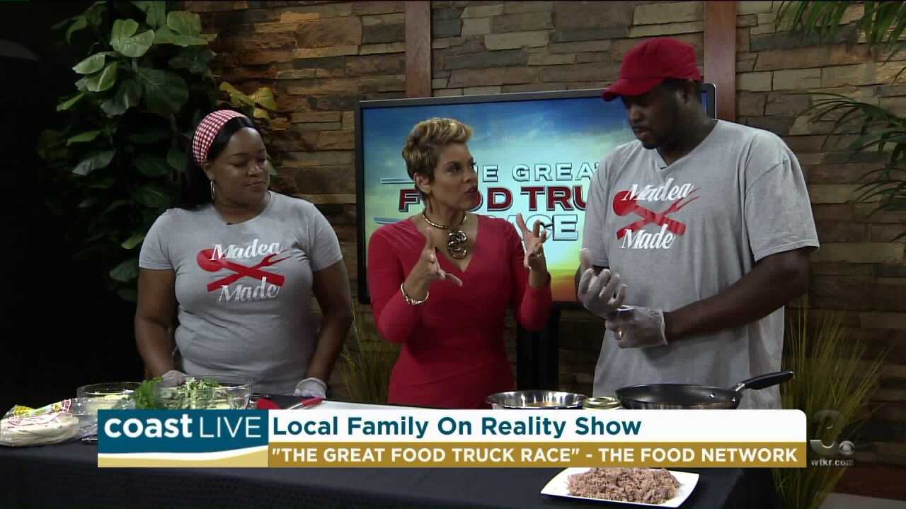 Beach couple share their Food Network reality experience on Coast Live