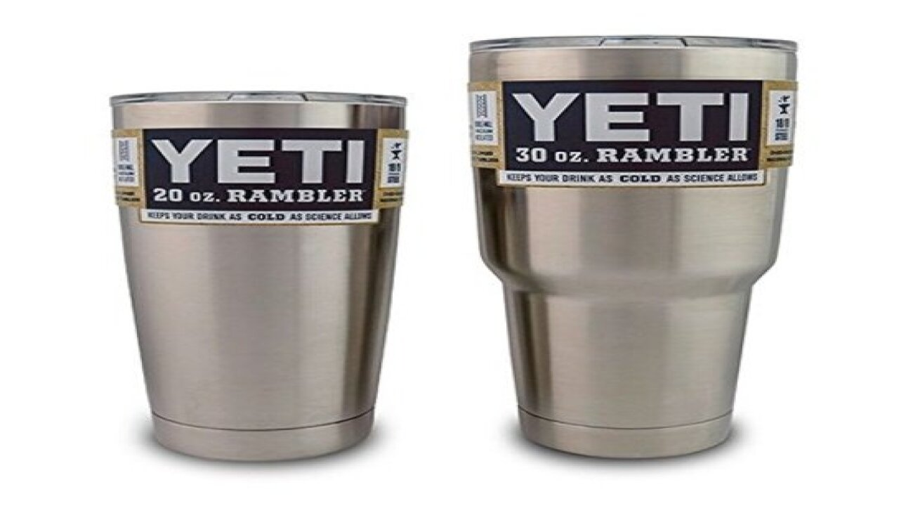 $39 Yeti tumbler vs. $9 Walmart version: Is there any difference?