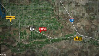 At least 1 person dead in crash between Fairfield and Vaughn