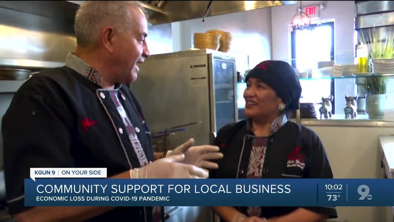 Community support proving to be vital for local businesses