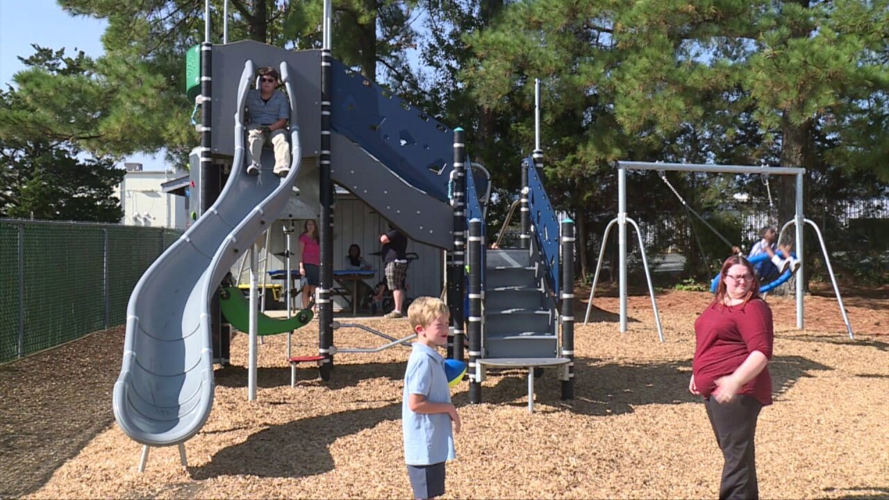 Check out this new adaptive playground that just opened in Henrico