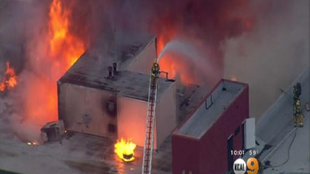 5 dead in fire in abandoned building in Los Angeles