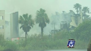Lightning strike causes condo fire on South Padre Island