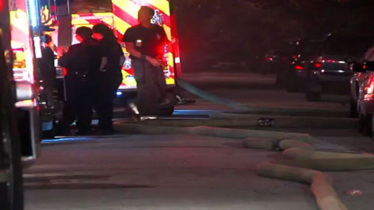 Fire damages west side home early Thursday