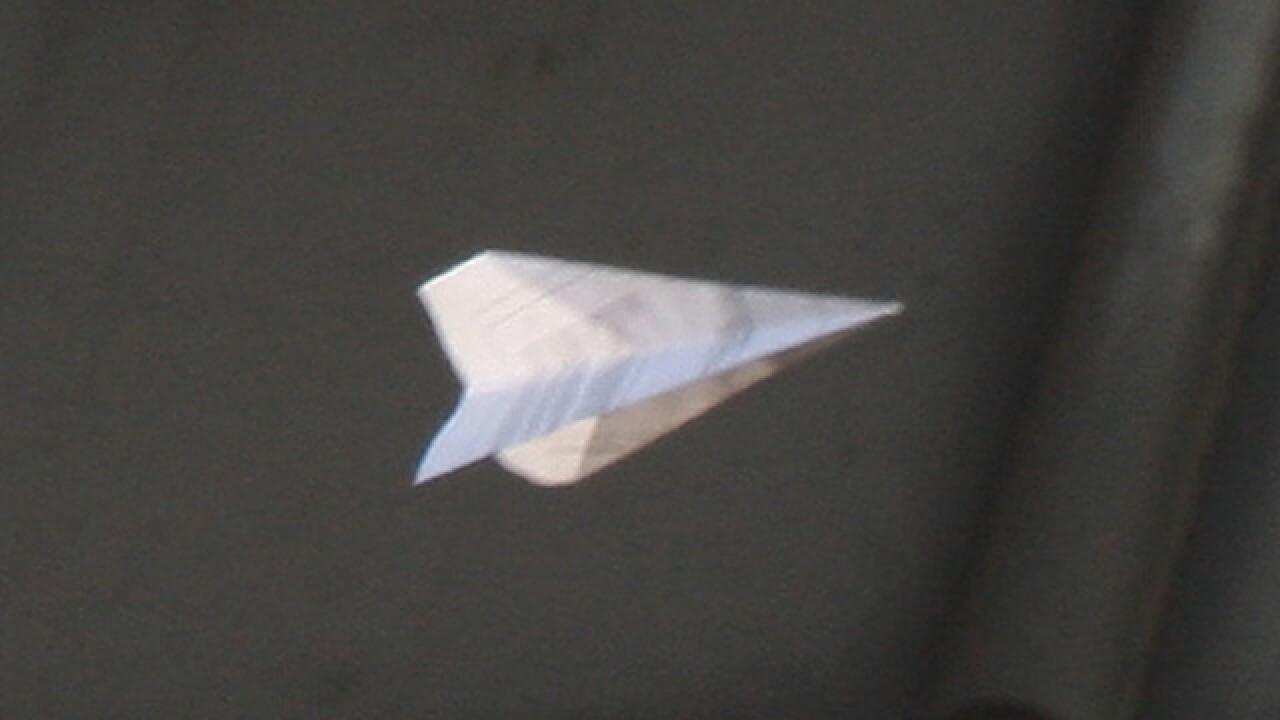 High school student could face 30 days in jail for throwing paper airplane